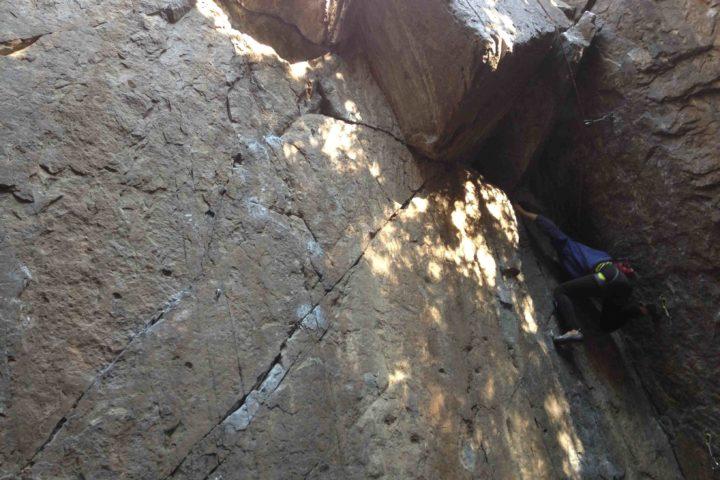 climbing santiago chile - el arrayan